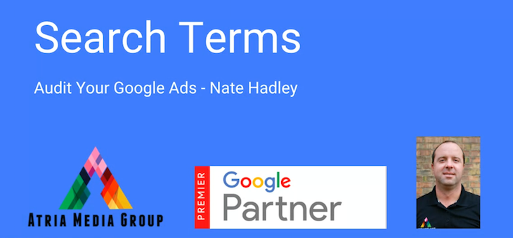 Audit Your Google Ads – Search Terms